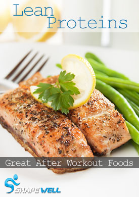 Lean Protein Sources For After Workout