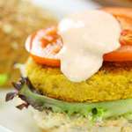 Pumpkin & Chickpea Burgers Recipe